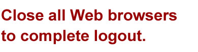 Close all Web Browsers